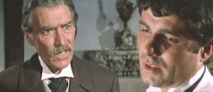 Giuseppe Addobbati as Mr. Scott and Nino Castelnuovo as Junior in Massacre Time (1966)