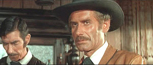 """Andrea Bosic as the sheriff in """"Kill or Be Killed"""" (1966)."""