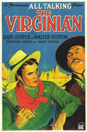 The Virginian (1929) poster