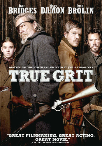 True Grit (2010) DVD cover