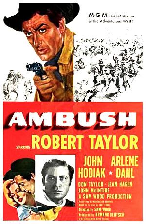 Ambush (1950) poster