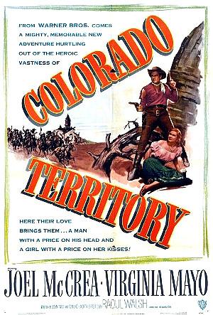 Colorado Territory (1949) poster