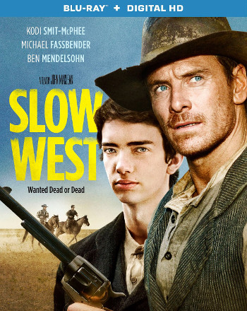 Slow West (2015) DVD cover