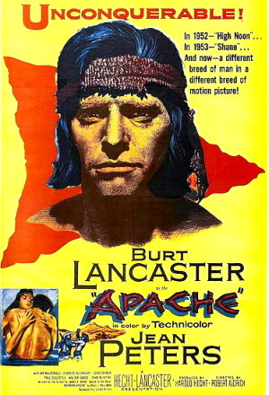 Apache (1954) poster