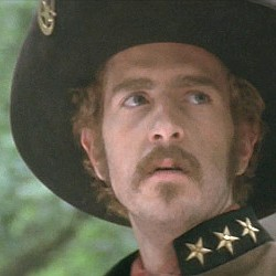 "John Ales as William Quantrill in ""Ride with the Devil"" (1999)"