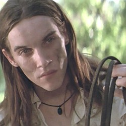 "Jonathan Rhys Meyers as Pitt Mackeson in ""Ride with the Devil"" (1999)"