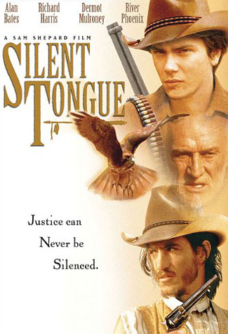 Silent Tongue (1993) DVD cover