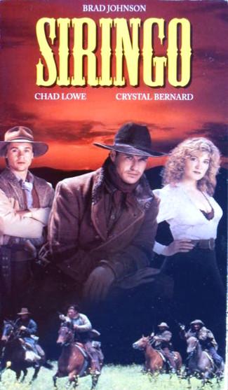 Siringo (1994) VHS cover