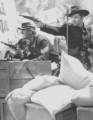 Audie Murphy as Lt. Sayre in Column South (1953)