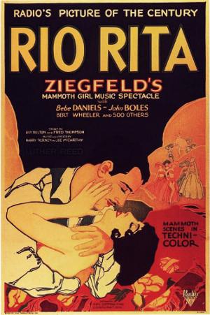 Rio Rita (1929) poster