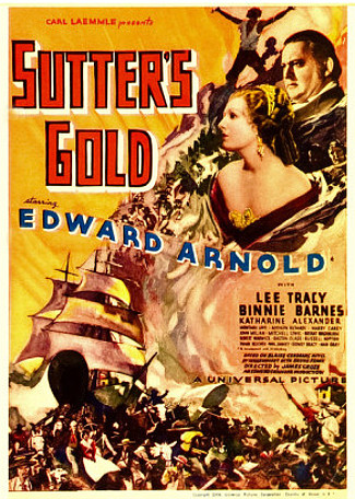 Sutter's Gold (1936) poster