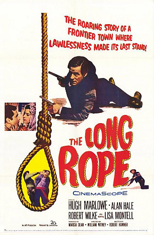The Long Rope (1961) poster
