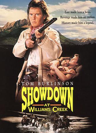 Showdown at Williams Creek (1991) DVD cover