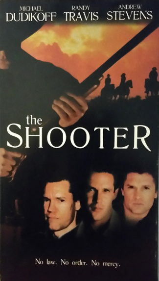 The Shooter (1997) VHS cover