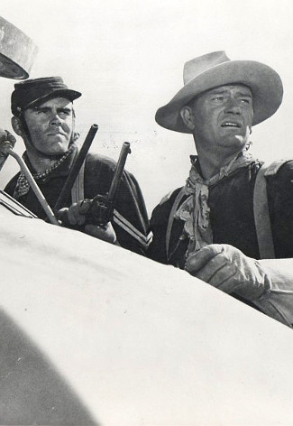 John Wayne as Capt. Kirby York in Fort Apache (1948)