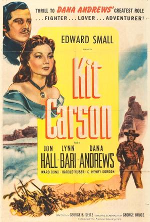Kit Carson (1940) poster