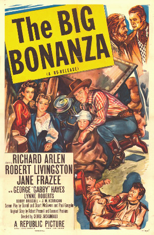 The Big Bonanza (1944) poster