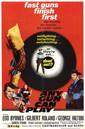 Any Gun Can Play (1967) poster