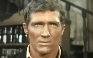 Brad Harris as Sheriff Bill Manners in Rattler Kid (1968)