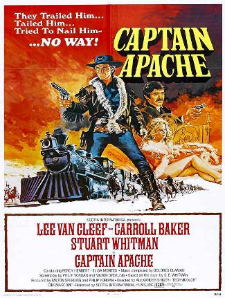 Captain Apache (1971) poster