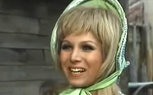 Conny Caracciolo as Jill in Rattler Kid (1968)