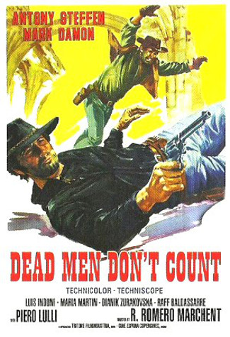 Dead Men Don't Count (1968) poster