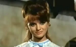 Femi Benussi as Helen in Rattler Kid (1968)