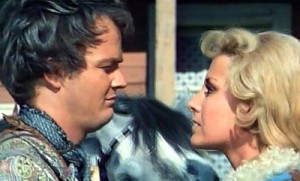 Lou Castel as Ray and Diana Sorel as Bridgette in Matalo (1970)