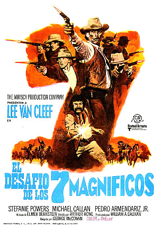 Magnificent Seven Ride (1972) poster