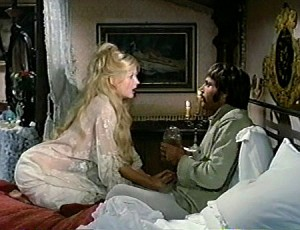 Pamela Tiffin as Susie with Franco Nero as Johny Ears in Deaf Smith and Johnny Ears (1973)