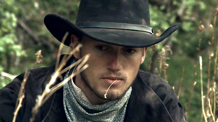 Brad Martocello as Beau London in Lawless Frontier (2012)