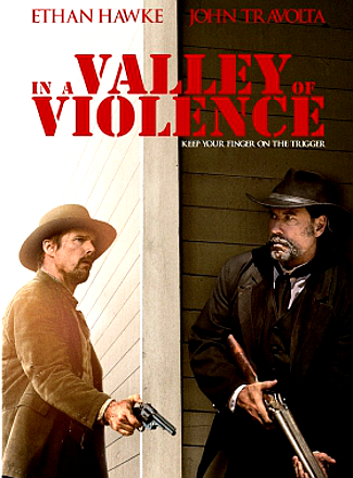 In the Valley of Violence (2016) dvd cover