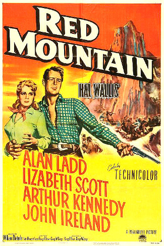 Red Mountain (1951) poster
