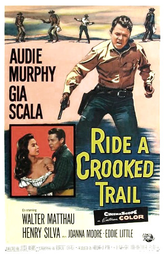 Ride a Crooked Trail (1958) poster