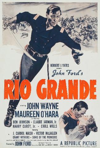 Rio Grande (1950) poster