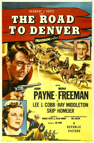 Road to Denver (1955) poster