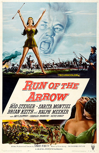 Run of the Arrow (1957) poster