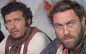 Teller and Jack, the beast, in The Last Traitor (1971)