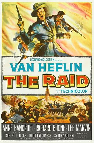 The Raid (1954) poster