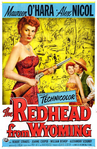 The Redhead from Wyoming (1953) poster