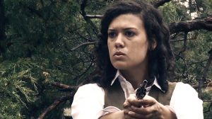 Vanessa Bartlett as Martha in Lawless Frontier (2012)