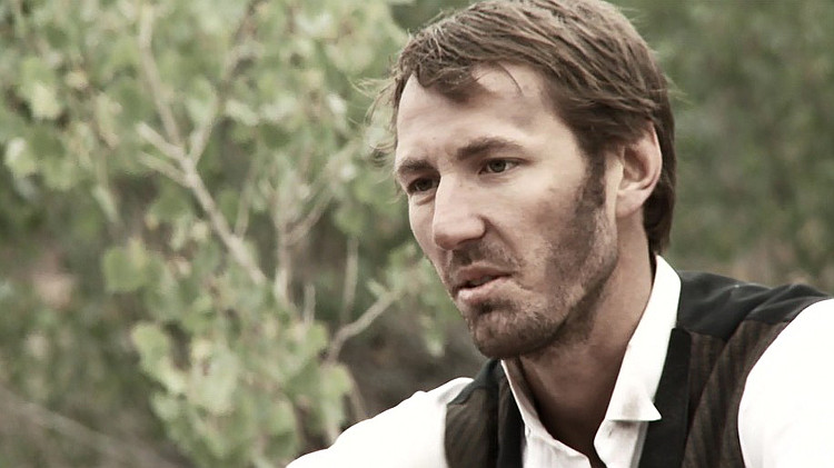 Walker Hare as Jacob London in Lawless Frontier (2012)