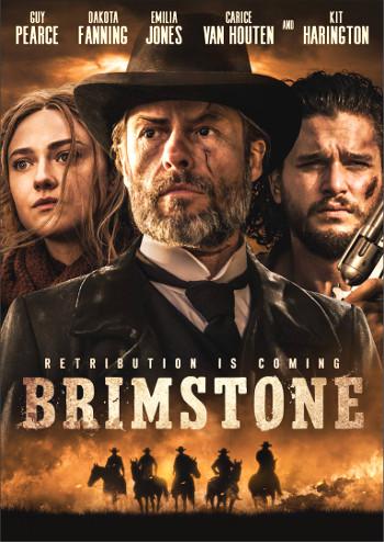 Brimstone (2016) DVD cover