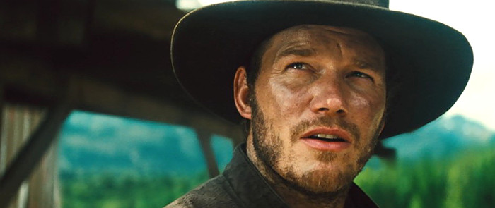 Chris Pratt as Josh Faraday in The Magnificent Seven (2016)