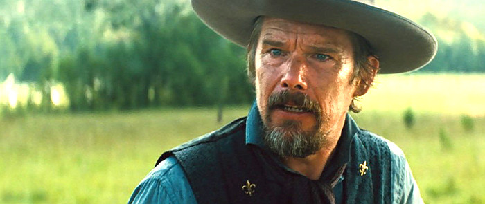 Ethan Hawke as Goodnight Robicheaux in The Magnificent Seven (2016)