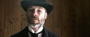 Guy Pearce as The Reverend in Brimstone (2016)