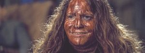 Jennifer Jason Leigh as Daisy Domergue in The Hateful Eight (2015)
