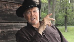Lee Majors as Grandpa Hickok, the story teller in Wild Bill Hickok, Swift Justice (2016)