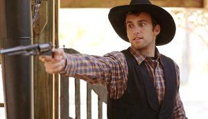 Matthew Ziff as Cutty in Wild Bill Hickok, Swift Justice (2016)
