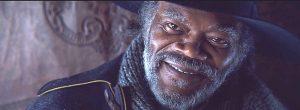 Samuel L. Jackson as Maj. Marquis Warren in The Hateful Eight (2015)
